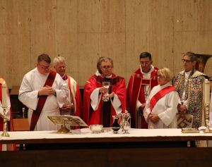 Watch Footage of the Consecration
