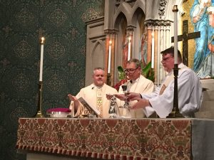 Watch Footage of the Seating of the Bishop
